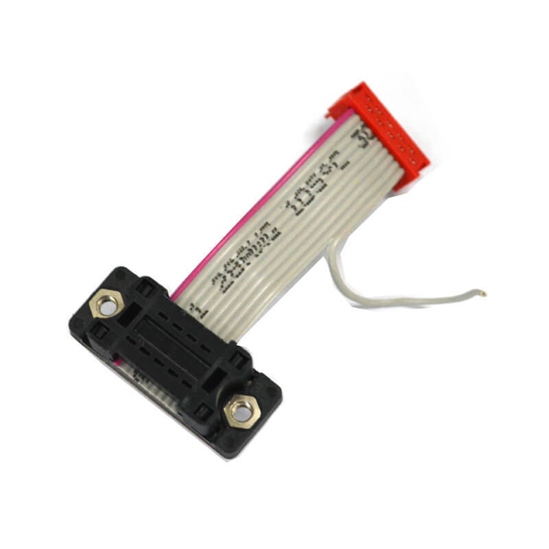 DB 9 pin male to pitch 2.54 mm 10 pins box header cable NGD010